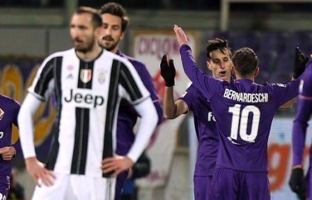 Juve sconfitta da una Fiorentina affamata