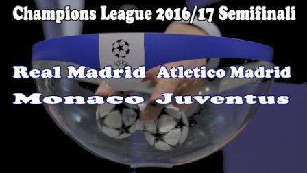 Semifinali Champions League 2017, Monaco Juventus