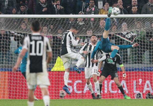 Super Real, rovesciata goal Cristiano Ronaldo da leggenda. La Juve ci mette del suo